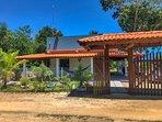 Casa de Algodão, localizada na praia de Algodões. Instagram acasadealgodao1