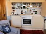 Sitting Rood 2 with fold-a-way kitchenette