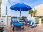 Sundeck with Comfy Loungers