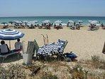 Una spiaggia di Pescoluse