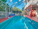 Fully enclosed heated pool