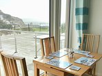Sea view from dining table