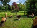 Moreton gardens, looking SouthEast
