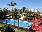 Huge private pool with fantastic views