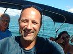 Seu Skipper Sérgio possui 25 anos de experiência em navegação no Brasil e Mediterrâneo
