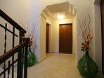 Villa Rosa - Ingresso Appartamenti - Apartments Entrance