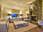 Formal Lounge with feature gas fireplace