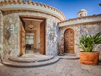 Villa Marcella's front door