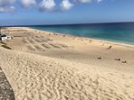 Morro Jable, Jandía beach. Five minutes walking from the apartment Beach and sun throughout the year