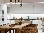 Another aspect of the kitchen and dining area.