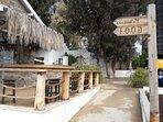 La Isla - one of several seaside walk coffee or lunch stops