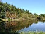 Private fishing lake