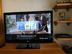TV con USB para ver tus fotos, películas etc.