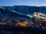 Park City Mountain Resort at Night