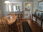 Dining area, through to kitchen