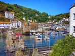 Beautiful Polperro Harbour