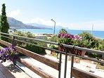 Vista panoramica della veranda sul Golfo di Castellammare