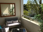 balcon pour profiter pleinement de la vue