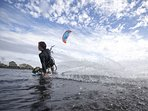 Kite boarding! Lots to do, you can rent locally!