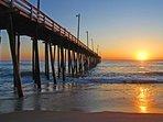 Rodanthe Pier, very early sunrise.