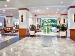 Bright spacious lobby for your enjoyment