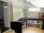 This is where guests make their breakfast or cook a quick meal whenever they feel peckish