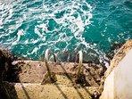 Easy entrance to amazing snorkeling.