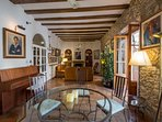 Can Felip Apartment 1_Living Room / Salón