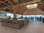 Here is Sapphire Beach bar - the center of all the fun at Sapphire!