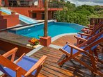 Sit poolside enjoying the warm weather of Costa Rica.