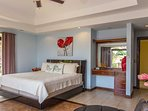 This bedroom has plenty of room for you while staying here.