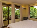 Each bedroom has air conditioning great for a comforable nights sleep.