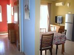 easily access the kitchen diner and bedroom from the hallway