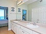 Double Vanity in the Master Bath