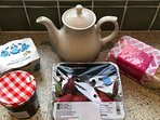 Traditional Cornish Cream Tea welcome