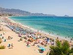 Unica playa de España con 34 años seguidos de bandera Azul de Calidad