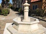 Fontaine d'ornement de la résidence