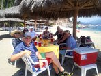 We will serve our guests lunch at our private beach club