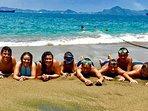 Playing at La Punta Private Beach