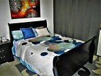 Loft Bedroom's Queen Size Bed