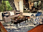 Living Room Sofa Bed & Accent Chair