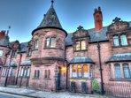Douglas Cottage designed built by Chester's renowned architect John Douglas Romantic fairytale gothi