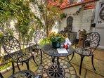 Delightful courtyard garden