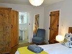 First floor double bedroom with en suite