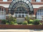 Entrance to Burlington Mansions