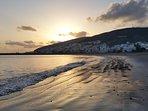 Gran Tarajal, puesta del sol