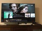 Tv 55' HD 4K con fibra óptica simétrica, wifi y movistar fusion