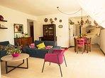 ampio soggiorno open space