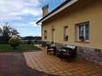 Fachada y terraza apto 1