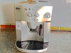 Quality appliances like this Cappuccino coffee machine.